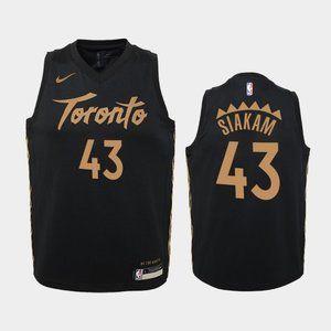 Women Toronto Raptors City Pascal Siakam Jersey